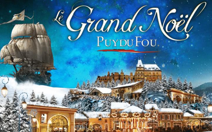 Sepctacles Mystère de Noël Puy du Fou