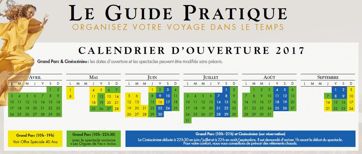 En période jaune, pour fêter son anniversaire, le Puy du Fou vous ...