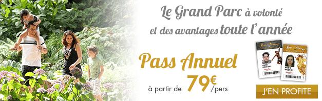 Avec le Pass annuel, à vous le Grand Parc du Puy du FOu à volonté !