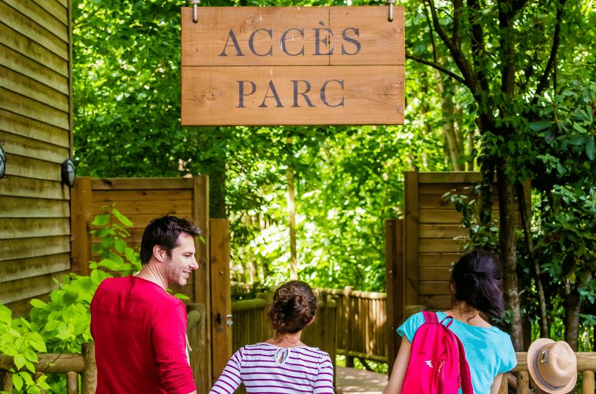 Accès privatif au parc