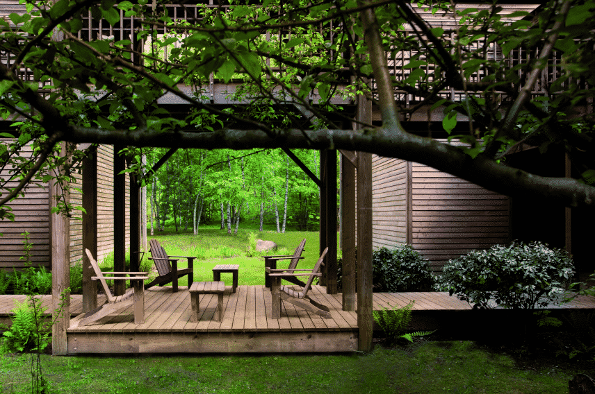 Terrase en bois