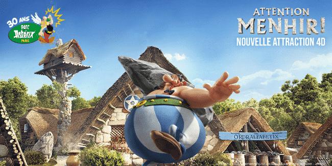 Gagner des entrées gratuites pour le Parc Astérix 2019