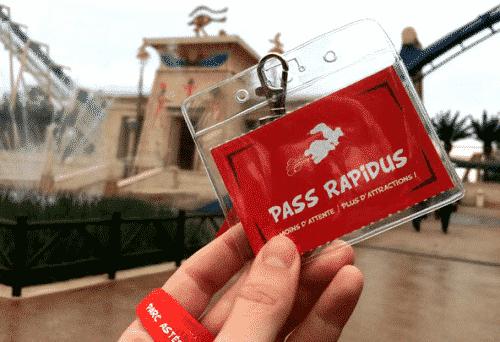 Pass Rapidus Parc Astérix