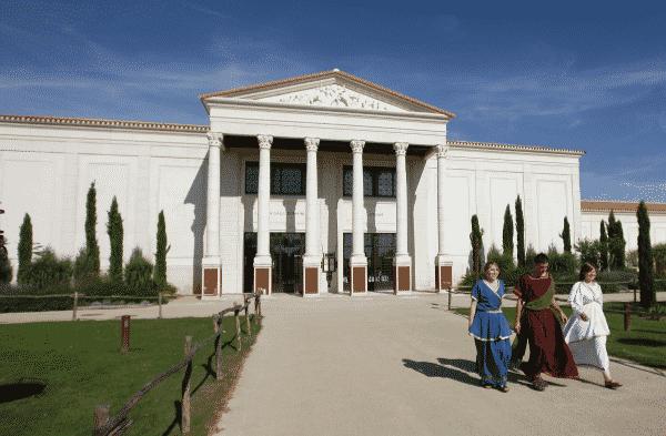 Entrée de la Villa Gallo-Romaine