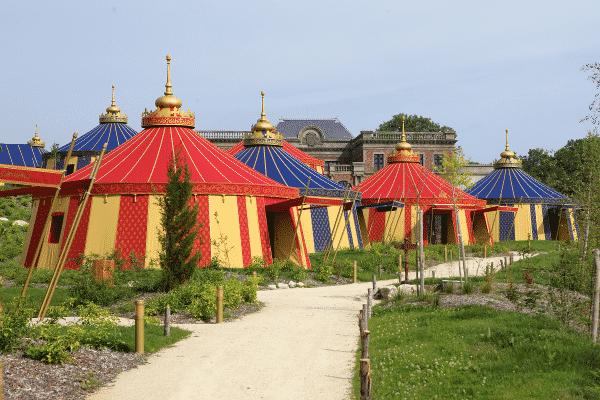 Allée hôtel Le Camp du Drap d'Or