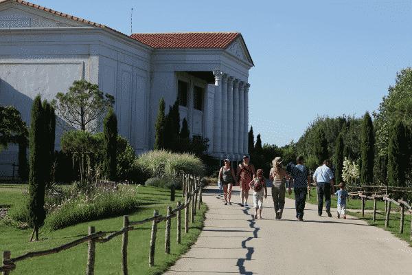 Allée de la Villa Gallo-Romaine