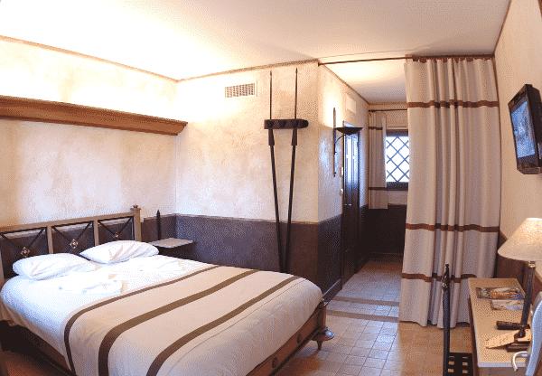 Une chambre à la Villa Gallo-Romaine