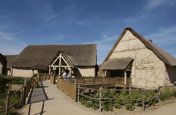 Entrée hôtel Iles de Clovis