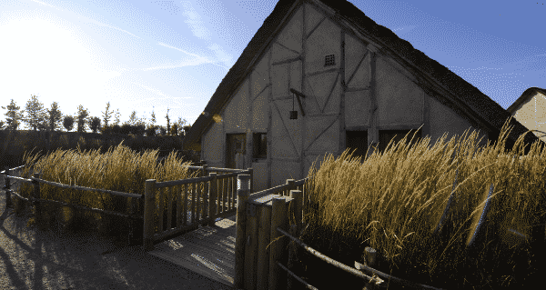 Hutte hôtel Iles de Clovis