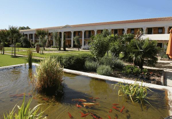 Le parc de la Villa Gallo-Romaine