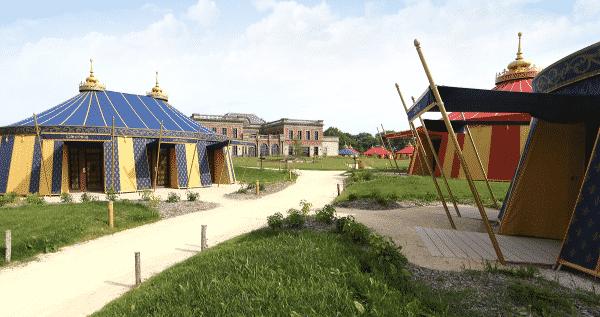 Tente hôtel Le Camp du Drap d'Or