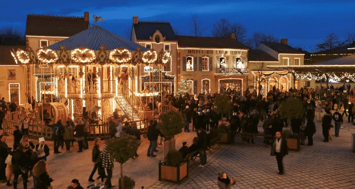 Bourg 1900 Noël Puy du Fou