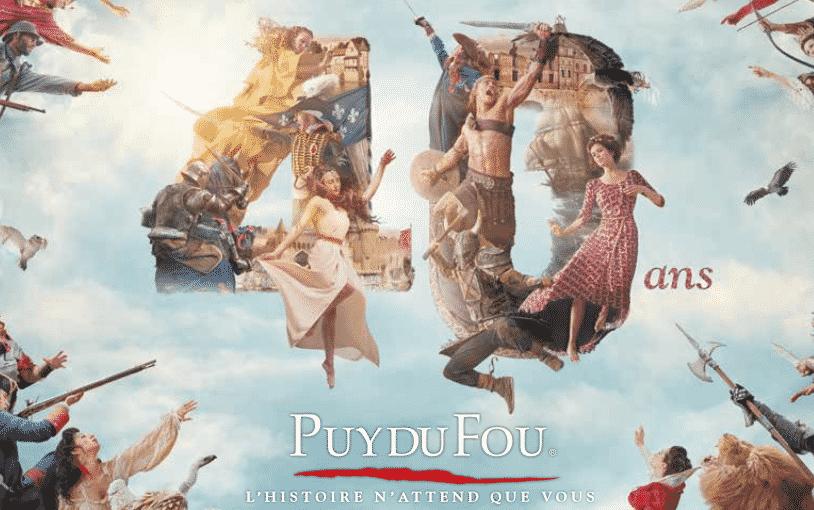 Nouveauté anniversaire 40 ans du Puy du FOu en 2017