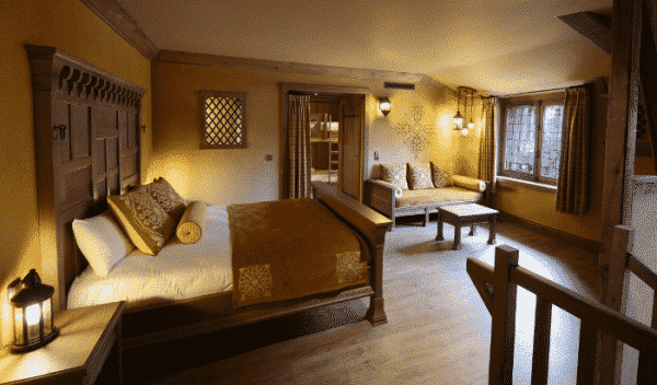 Hôtel La Citadelle chambre adulte