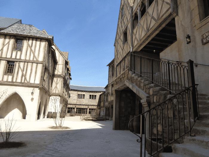 Hôtel La Citadelle cour intérieure