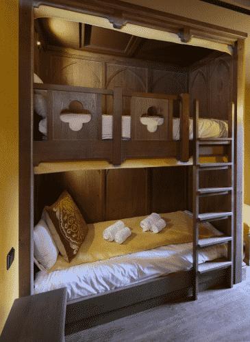 Hôtel La Citadelle lit enfant superposé