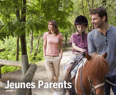 Réduction pour jeunes parents Center parcs