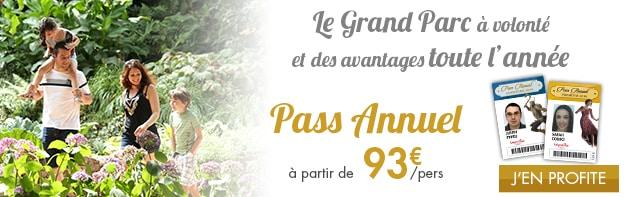 Pass Annuel Puy du Fou grand parc à volonté