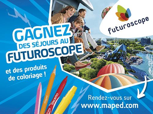 Gagner Futuroscope gratuit 2018
