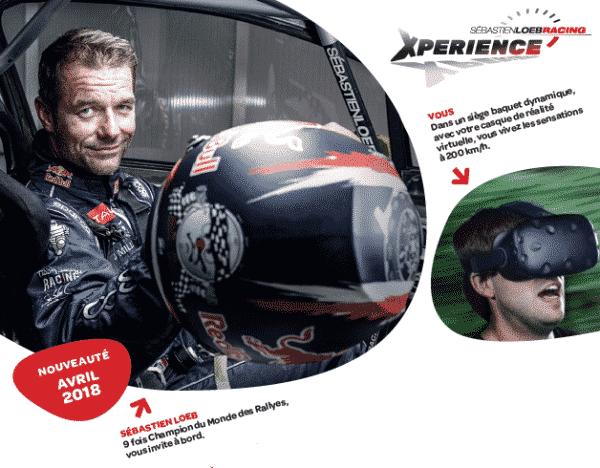 Nouveauté 2018 Sébastien Loeb Racing Xpérience