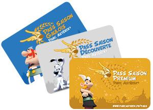 Gamme pass saison 2018 Parc Astérix