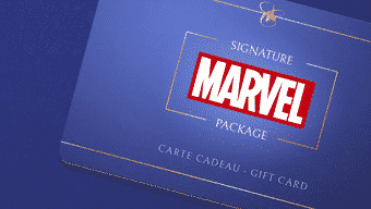 Carte cadeau Disneyland Marvel