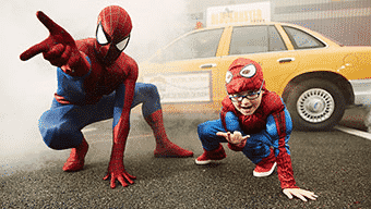 Rencontre avec Spider-Man