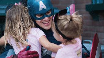 Rencontre avec Captain America