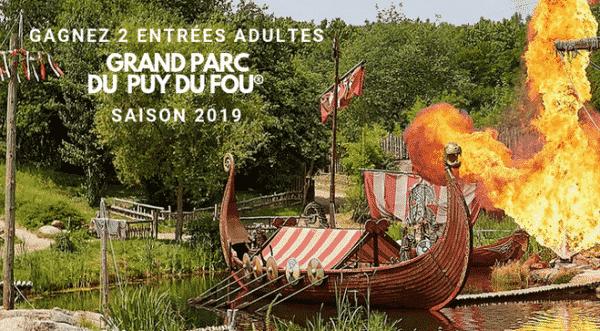 Gagner entrée Puy du Fou 2019