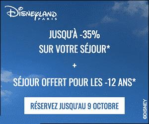 disneyland paris promo noel 2018 Promo Disneyland Paris : 35% de réduction sur le séjour disneyland paris promo noel 2018