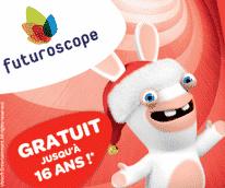 Futuroscope Noël enfant gratuit