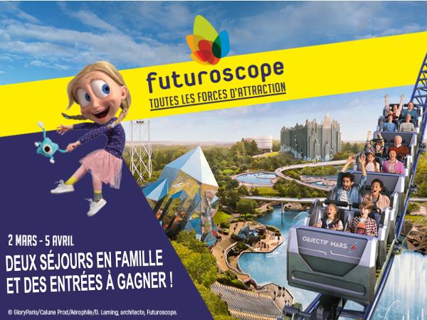 Gagner des entrées gratuites au Futuroscope en 2020