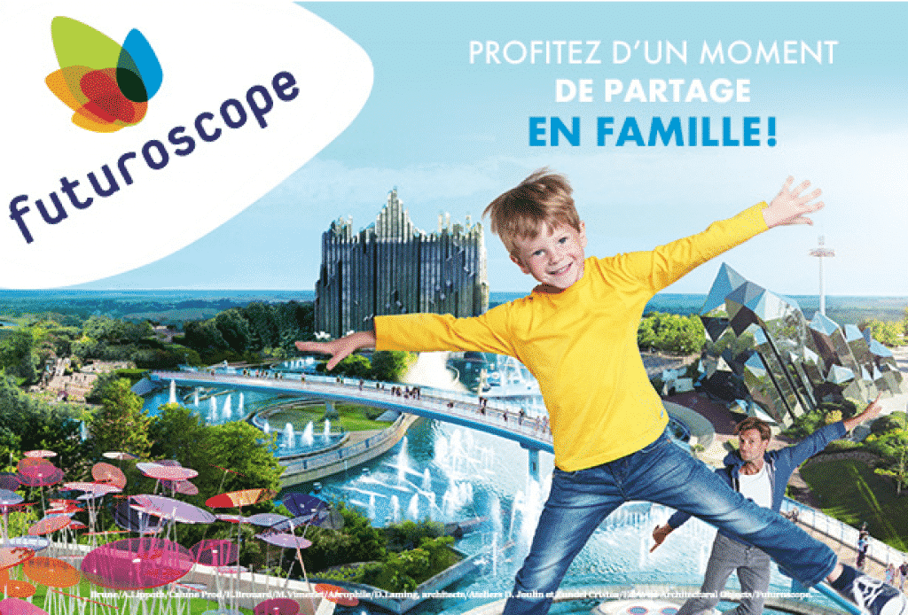 Gagner un séjour en famille au Futuroscope en 2019