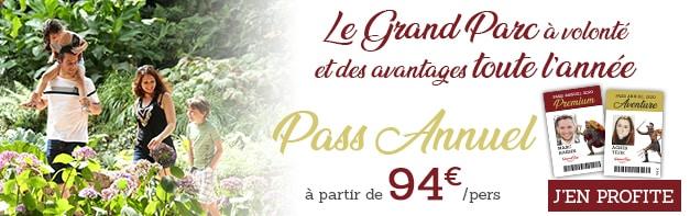 Pass annuel 2020 Puy du Fou