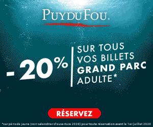 Promo billet Puy du Fou