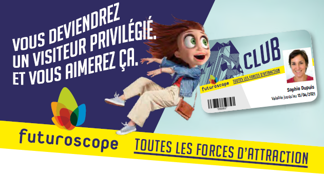 Avantages Carte Club Futuroscope