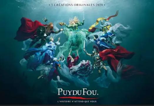 Gagner entrée Puy du Fou 2020