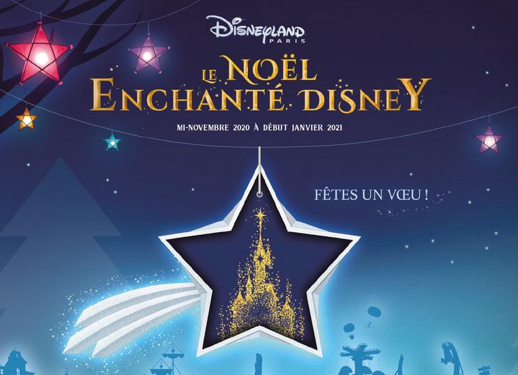 Gagner billet Noël Enchanté Disneyland