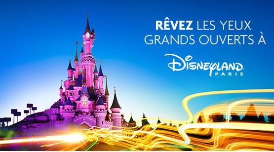 Jeu Optic 2000 gagner séjour Disneyland Paris