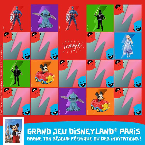 Jeu PicWicToys pour gagner Disneyland Paris