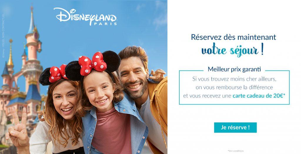 Disneyland Paris meilleur prix garanti