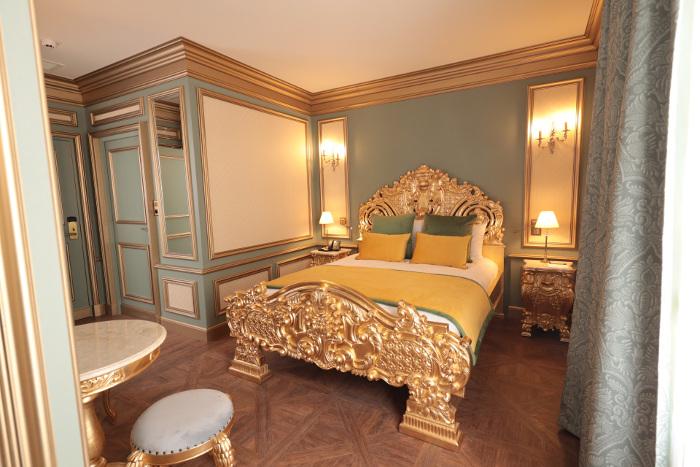 Intérieur chambre Hôtel Le Grand Siècle