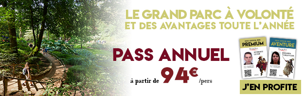 Pass annuel 2021 Puy du Fou